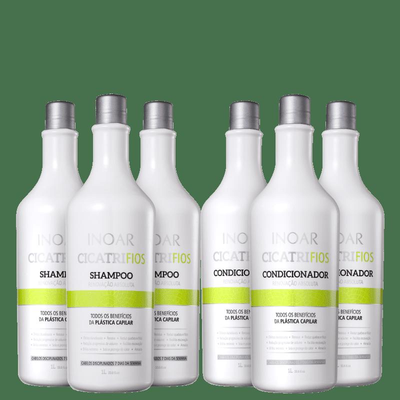 Kit Inoar CicatriFios (6 Produtos)