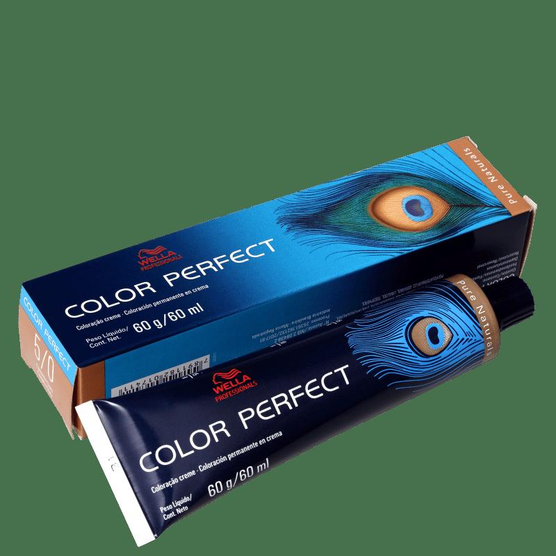 Wella Professionals Color Perfect 5/0 Castanho Claro - Coloração Permanente 60g