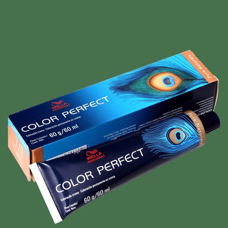 Wella Professionals Color Perfect 7/0 Louro Médio - Coloração Permanente 60g