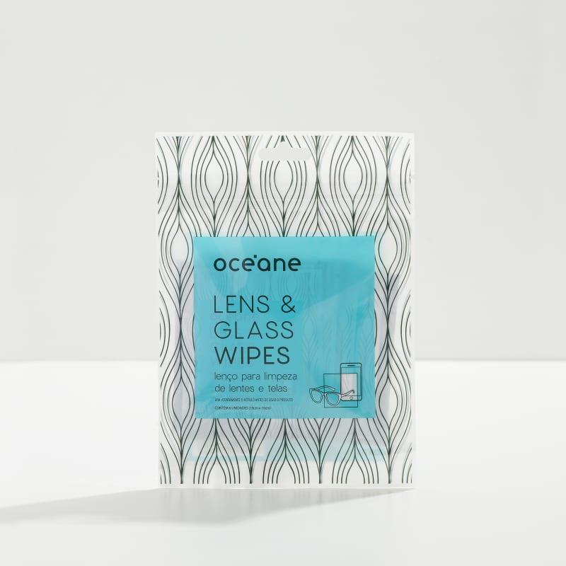 Lens & Glasses Wipes - Lenço para Limpeza de Lentes e Telas 6UN