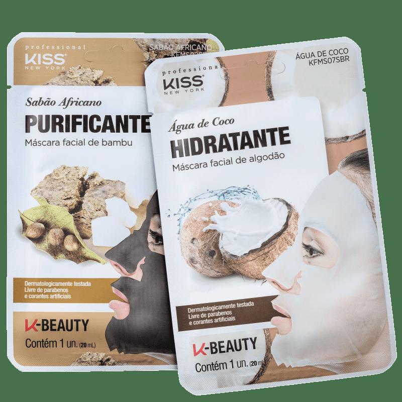 Kit Kiss New York Nutrição Purificante (2 Produtos)