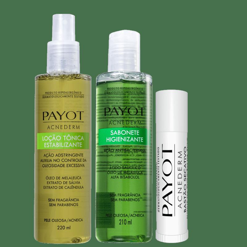 Kit Payot Acnederm Full (3 Produtos)