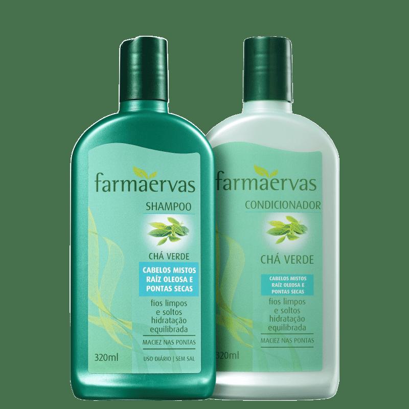 Kit Farmaervas Chá Verde Duo (2 Produtos)