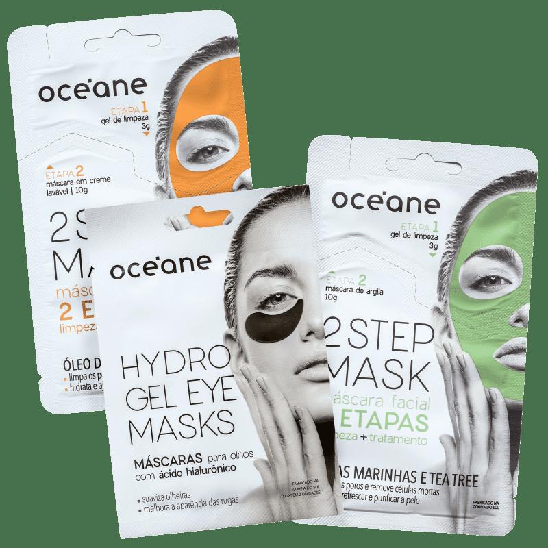 Kit Océane Power Mask (3 Produtos)