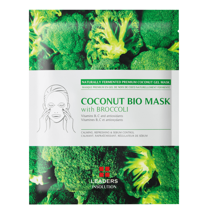 Kollab Leaders Coconut Bio with Broccoli - Máscara Facial 30ml