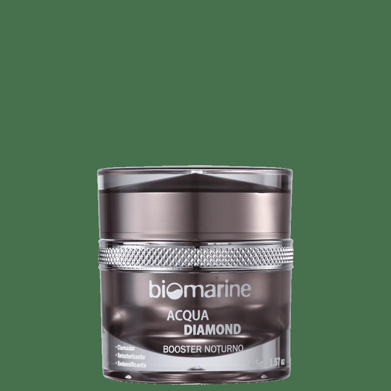 Biomarine Acqua Diamond Booster Noturno - Creme Anti-Idade 45g