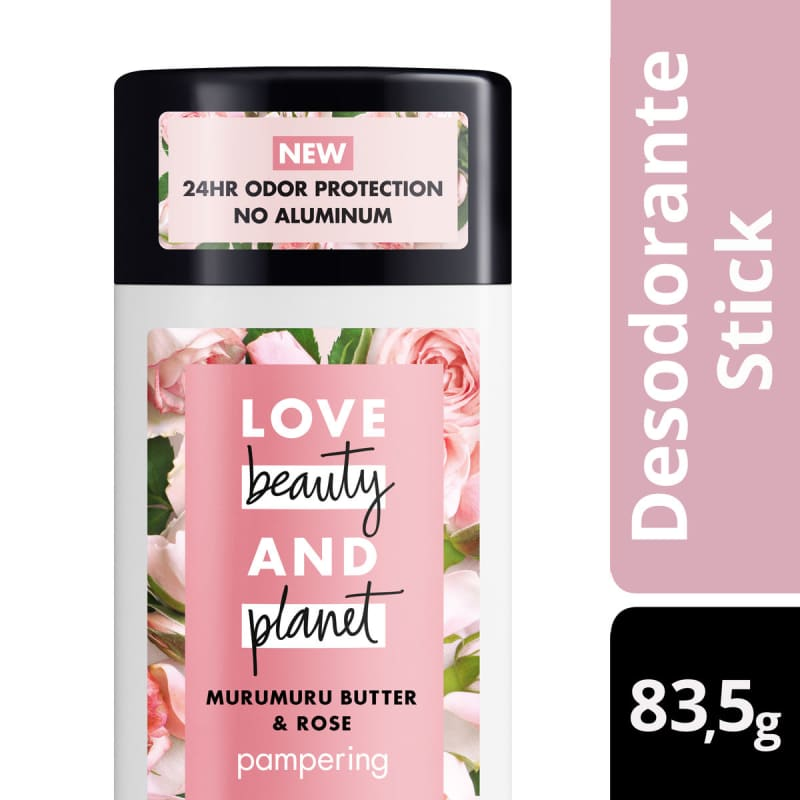 Love Beauty and Planet Stick Pampering - Desodorante 83,5g