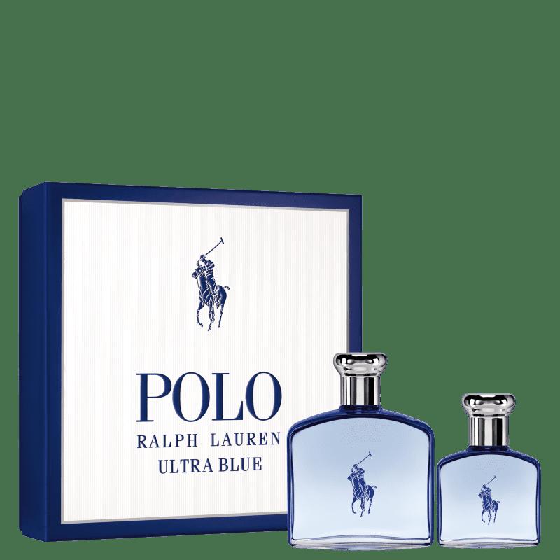 Conjunto Polo Ultra Blue Ralph Lauren Masculino - Eau de Toilette 100ml + Eau de Toilette 40ml
