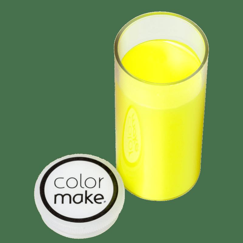 Colormake Amarelo Fluorescente - Tinta Cremosa 20g
