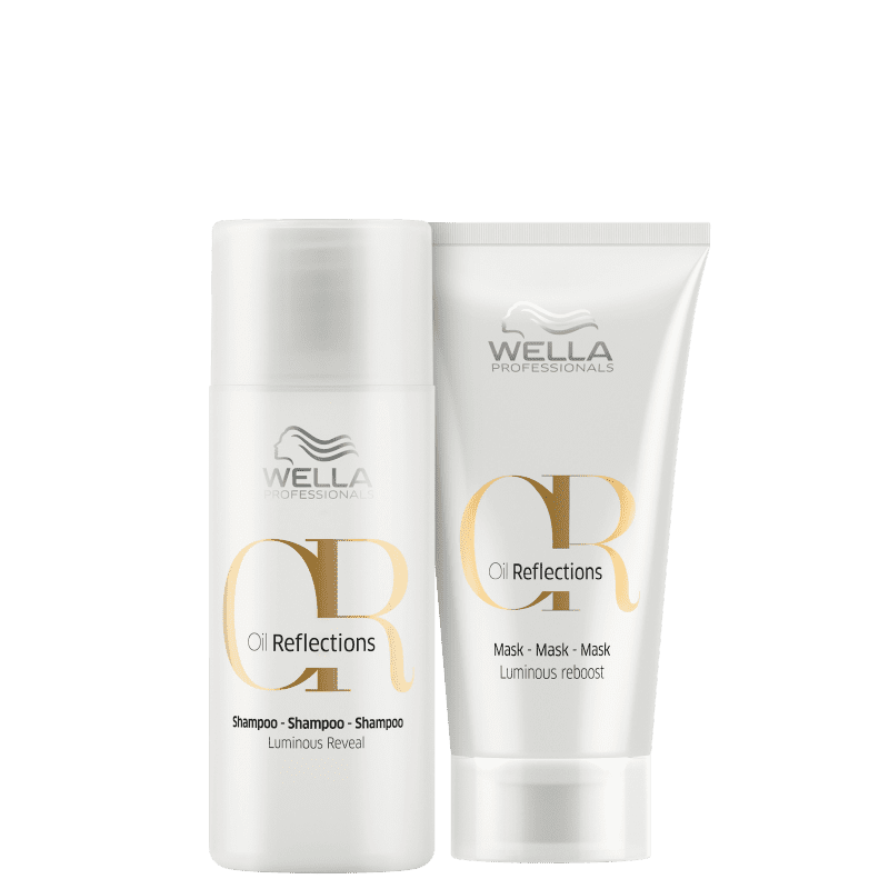 Kit Wella Professionals Oil Reflections Mini Mask (2 Produtos)