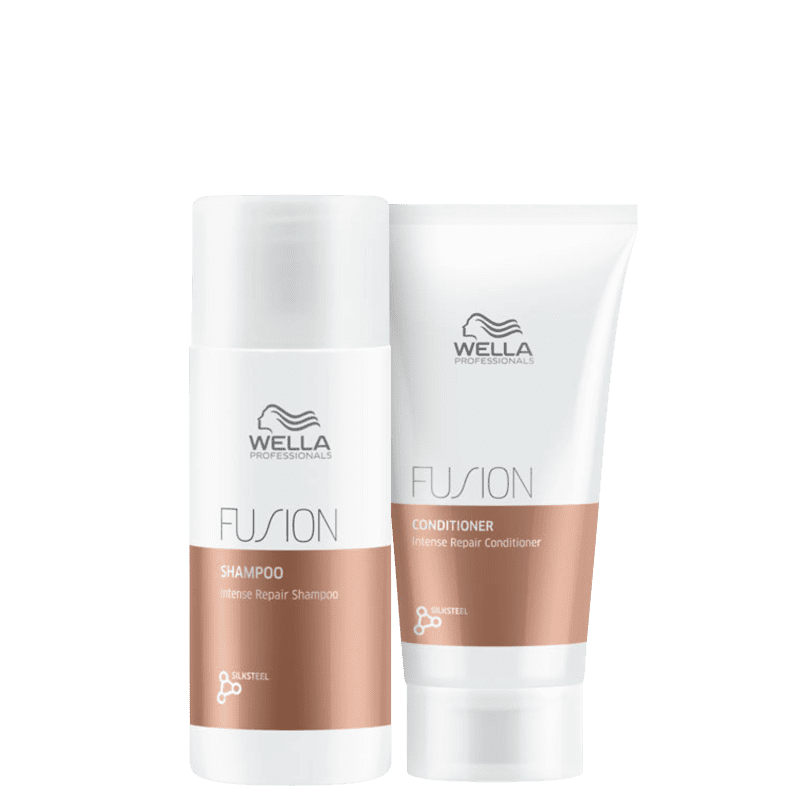 Kit Wella Professionals Fusion Mini Duo (2 Produtos)