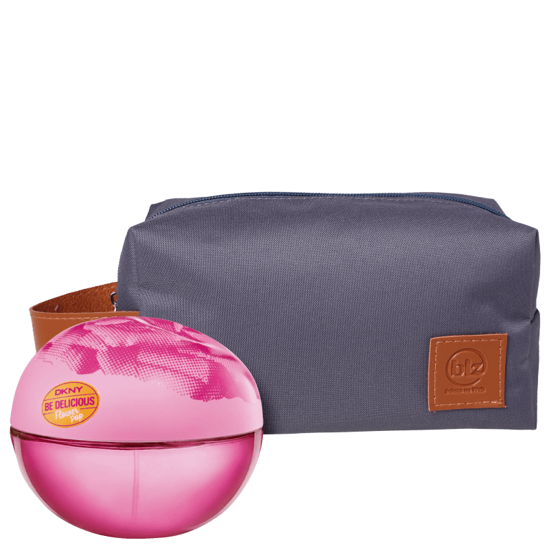 Conjunto Be Delicious Flower Pop Pink Bag DKNY Feminino - Eau de Toilette 50ml + Nécessaire