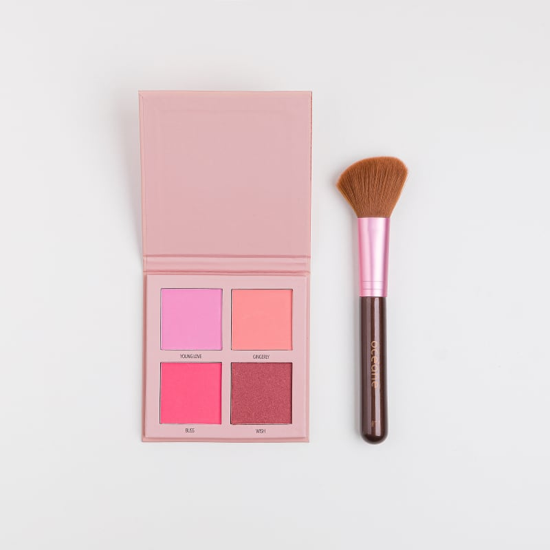 Kit Paleta de Blush Collection + Pincel para Blush