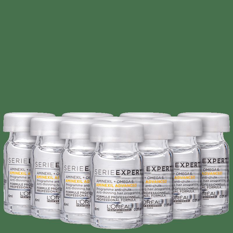 Ampola L'Oréal Professionnel Scalp Therapy Aminexil Advanced 10x6ml