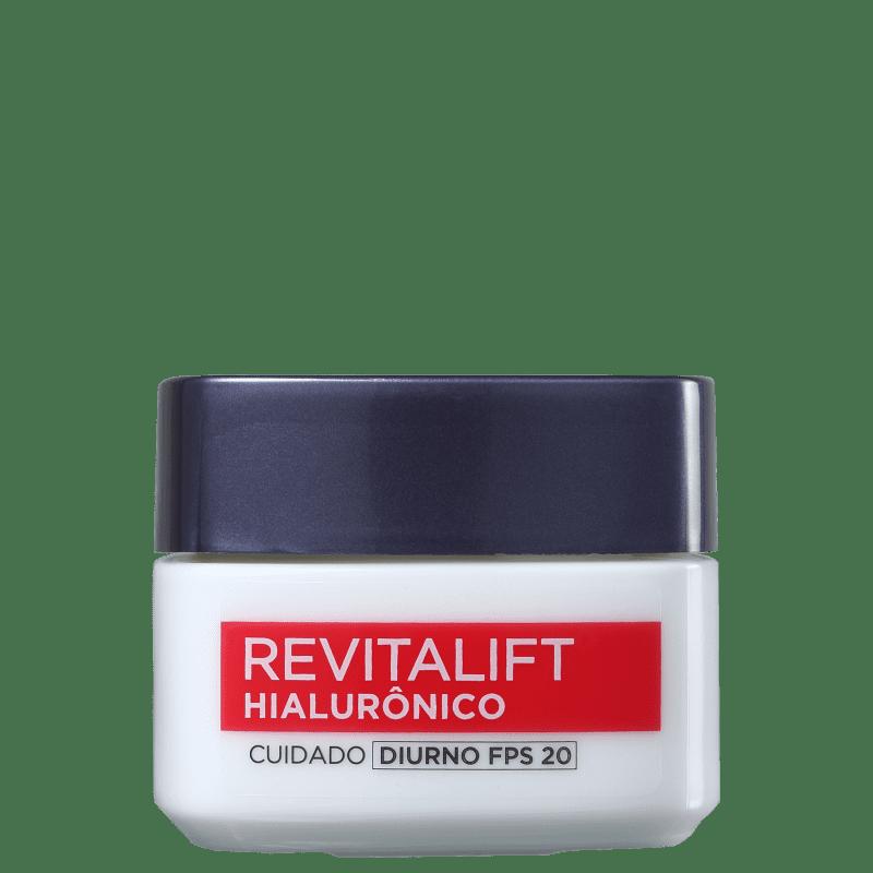 L'Oréal Paris Revitalift Hialurônico FPS 20 Tratamento Diurno - Anti-Idade 50ml