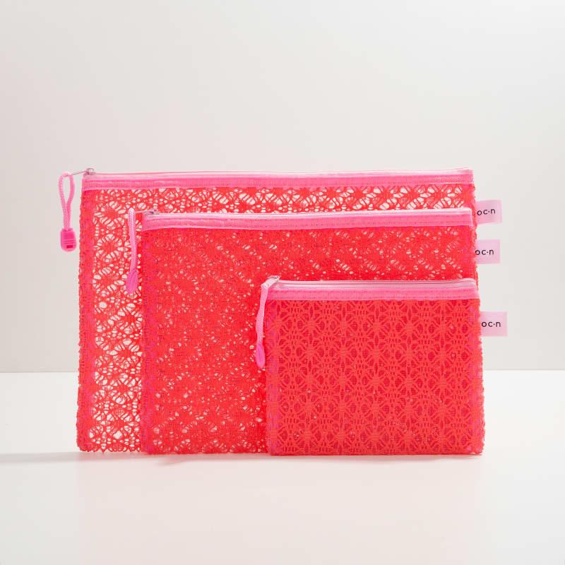 Kit Nécessaires Lace Bag