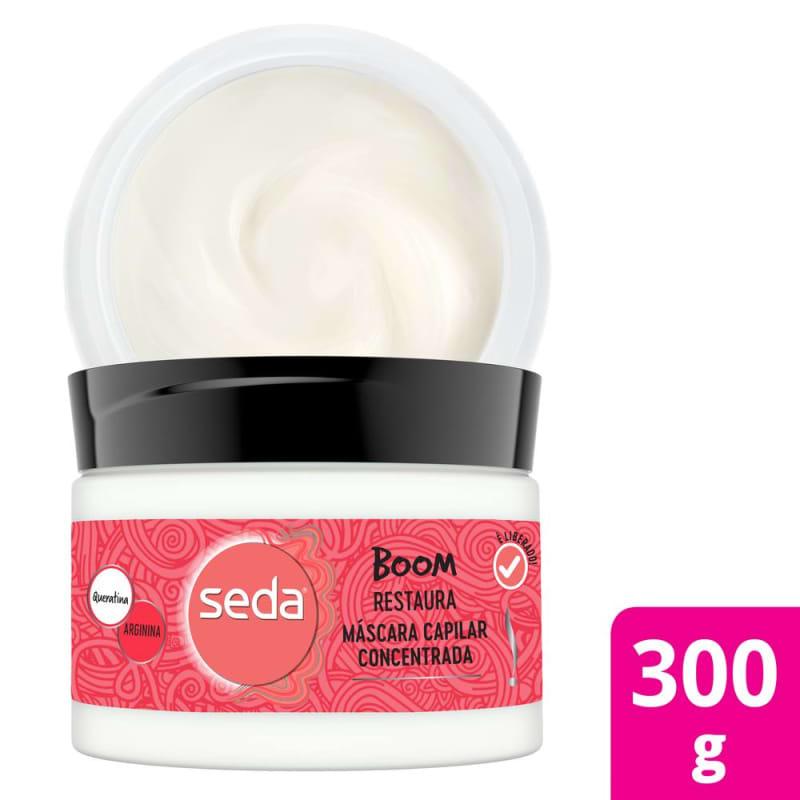 Seda Boom Restaura - Máscara Capilar 300g