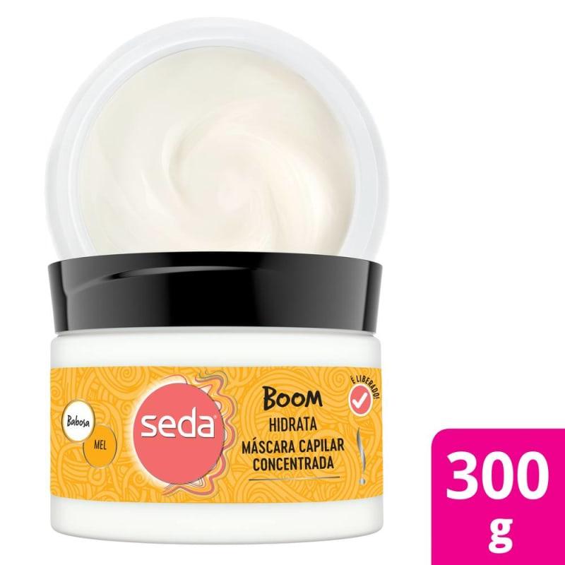 Seda Boom Hidrata - Máscara Capilar 300g