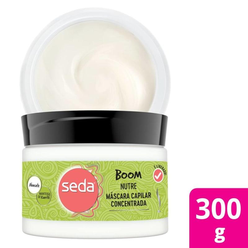 Seda Boom Nutre - Máscara Capilar 300g