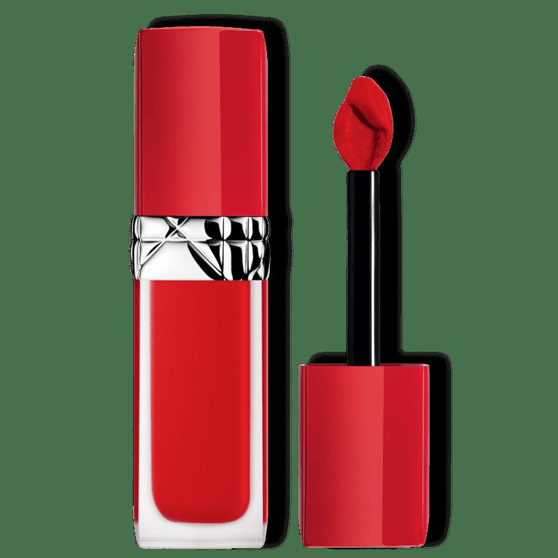 Dior Rouge Ultra Care 999 Bloom - Batom Líquido Matte 6ml