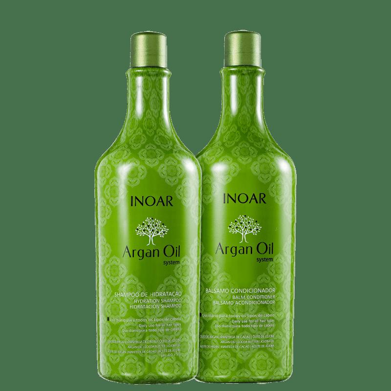 Kit Inoar Argan Hidratação (2 Produtos)