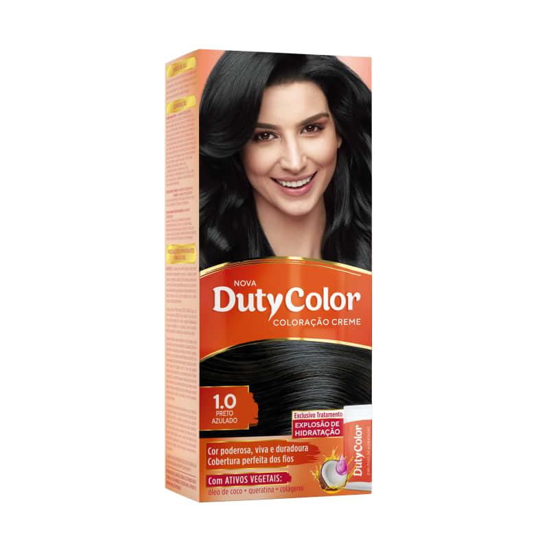 DutyColor 1.0 Preto Azulado - Coloração Permanente