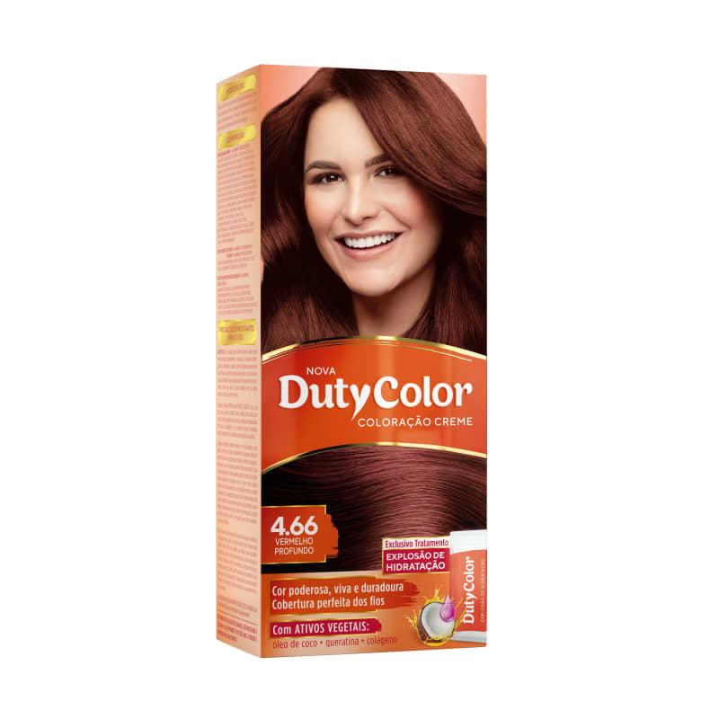 DutyColor 4.66 Vermelho Profundo - Coloração Permanente