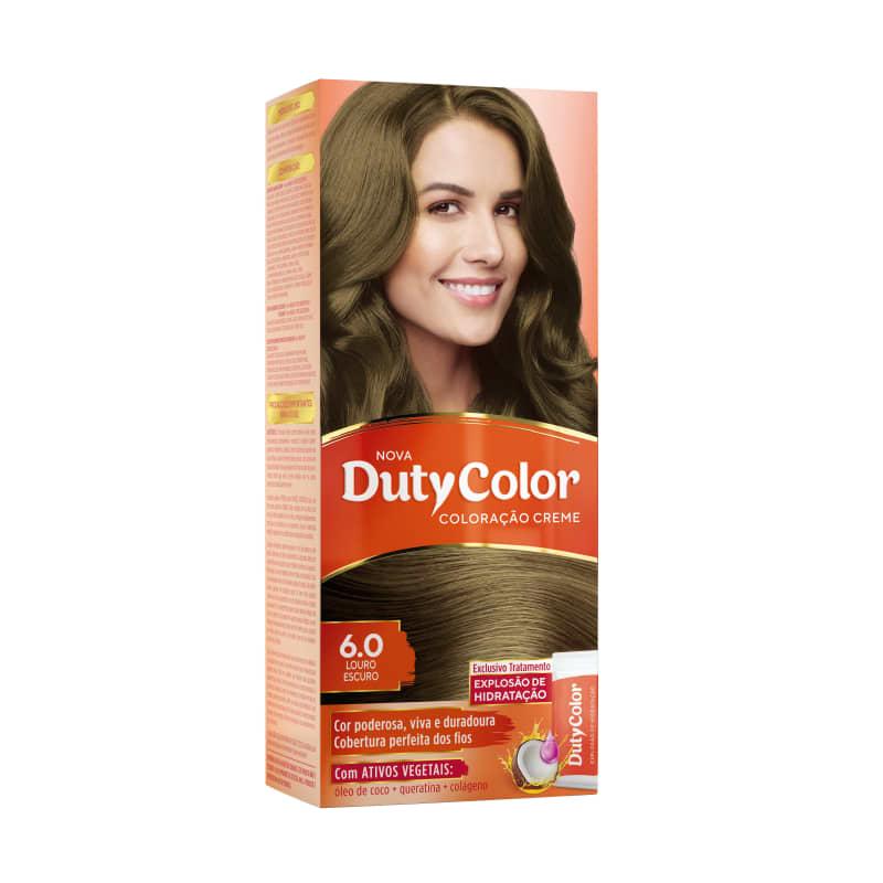 DutyColor 6.0 Louro Escuro - Coloração Permanente
