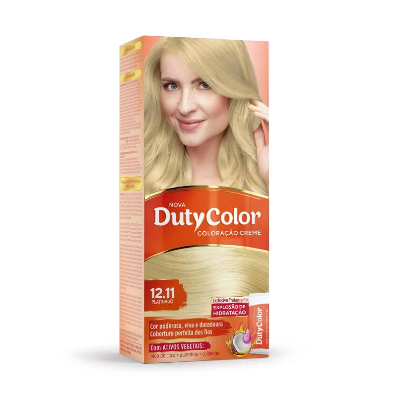 DutyColor 12.11 Platinado - Coloração Permanente