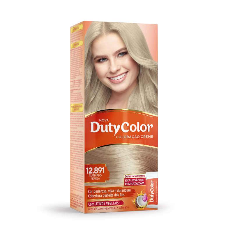 DutyColor 12.891 Platinado Pérola - Coloração Permanente