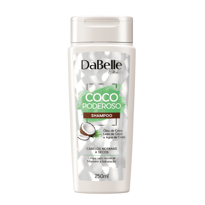 DaBelle Hair Coco Poderoso - Shampoo 250ml