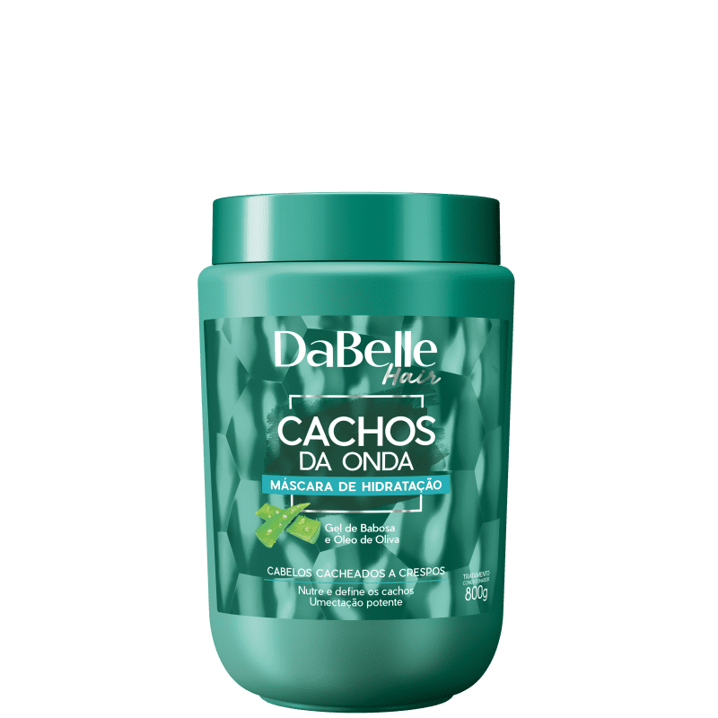 DaBelle Hair Cachos da Onda - Máscara Capilar 800g
