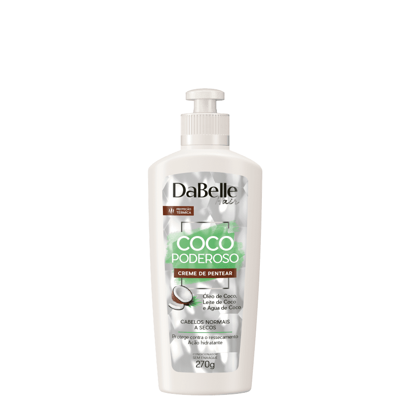 DaBelle Hair Coco Poderoso - Creme de Pentear 270g