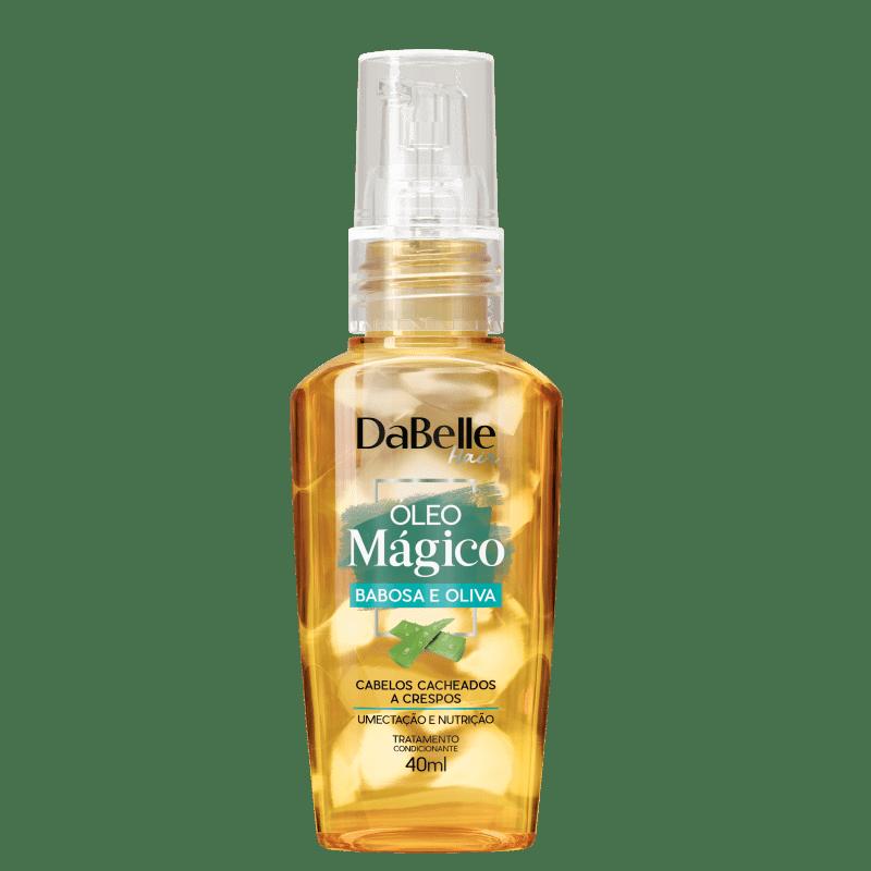 DaBelle Hair Óleo Mágico Oliva e Babosa - Óleo Capilar 40ml