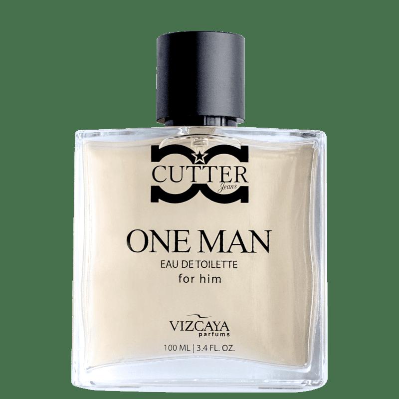 Cutter Jeans One Man Vizcaya Eau de Toilette - Perfume Masculino 100ml