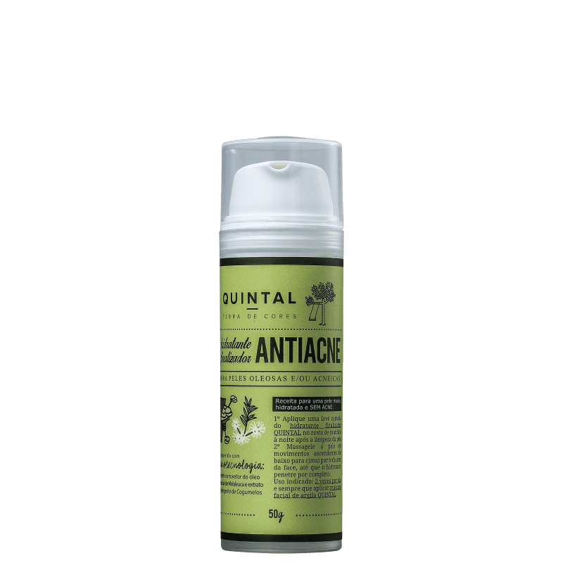 Quintal Finalizador Antiacne - Hidratante Facial 50g