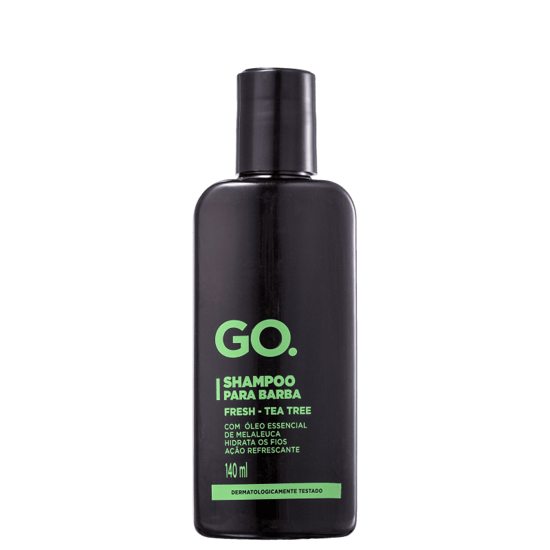 Go Fresh Tea Tree - Shampoo para Barba 140ml