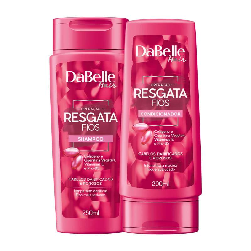 Kit DaBelle Hair Resgata Fios Duo (2 Produtos)