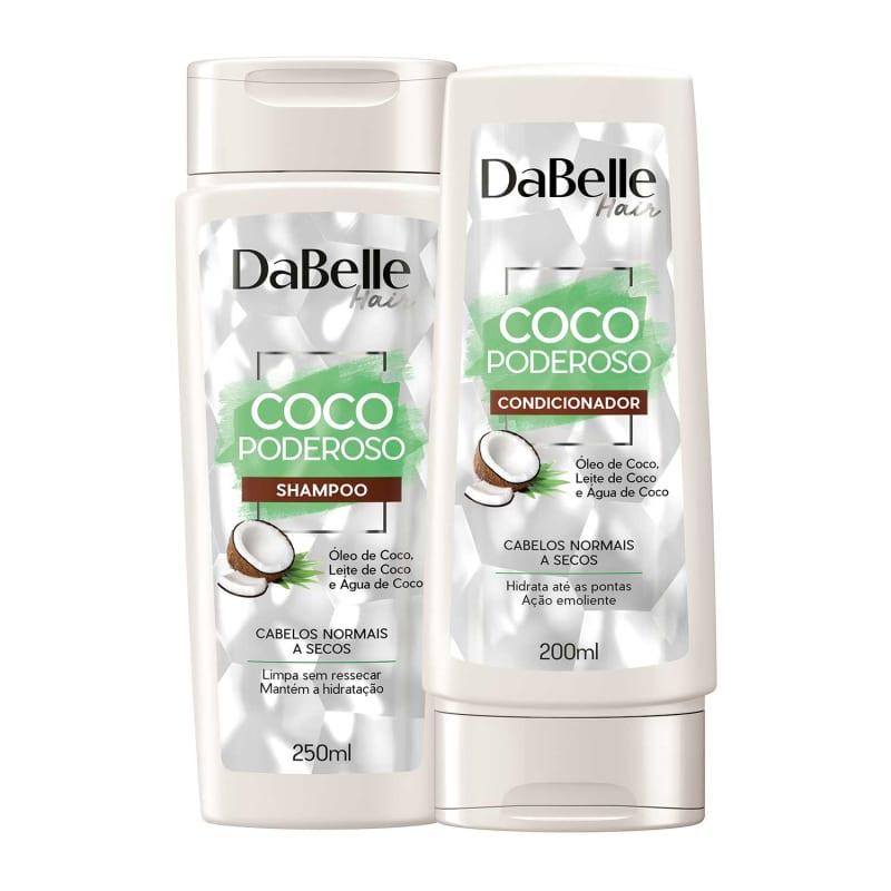 Kit DaBelle Hair Coco Poderoso Duo (2 Produtos)