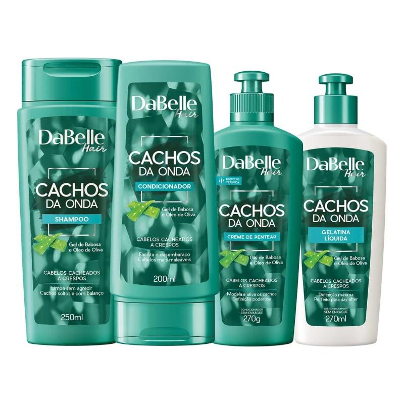 Kit DaBelle Hair Cachos da Onda Full (4 Produtos)