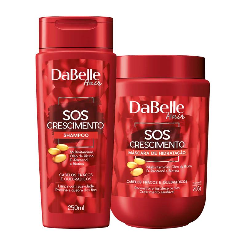 Kit DaBelle Hair SOS Crescimento Duo Diário (2 Produtos)