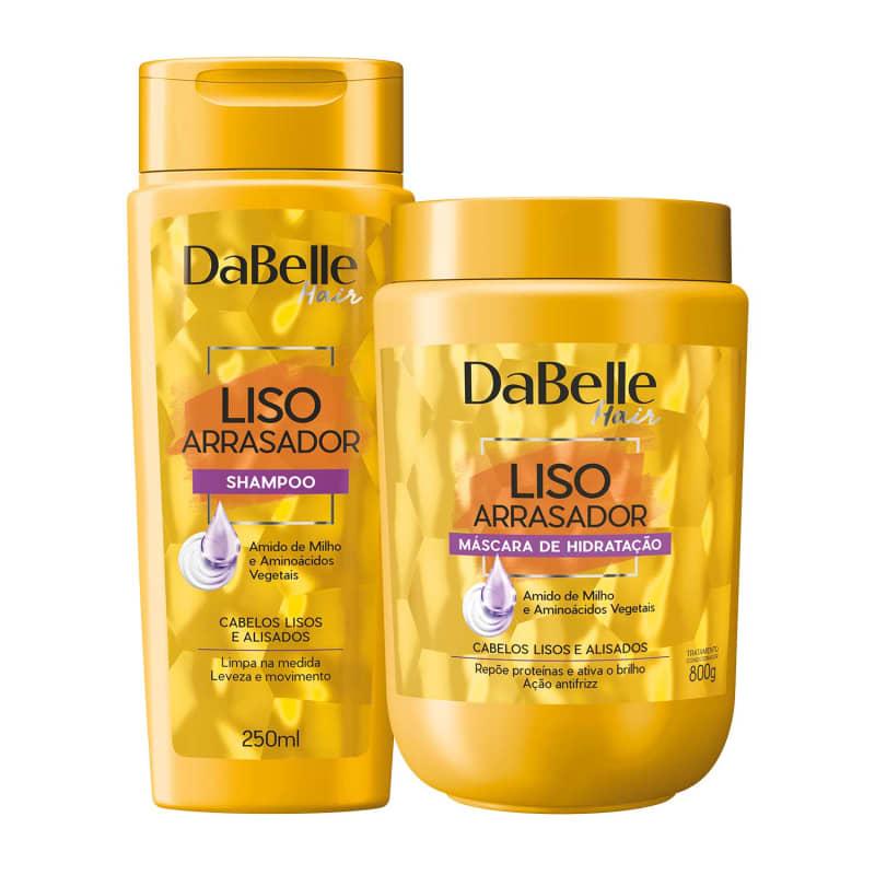 Kit DaBelle Hair Liso Arrasador Duo Diário (2 Produtos)