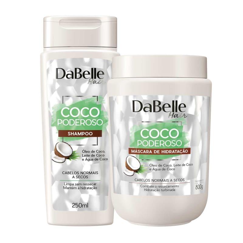 Kit DaBelle Hair Coco Poderoso Duo Diário (2 Produtos)