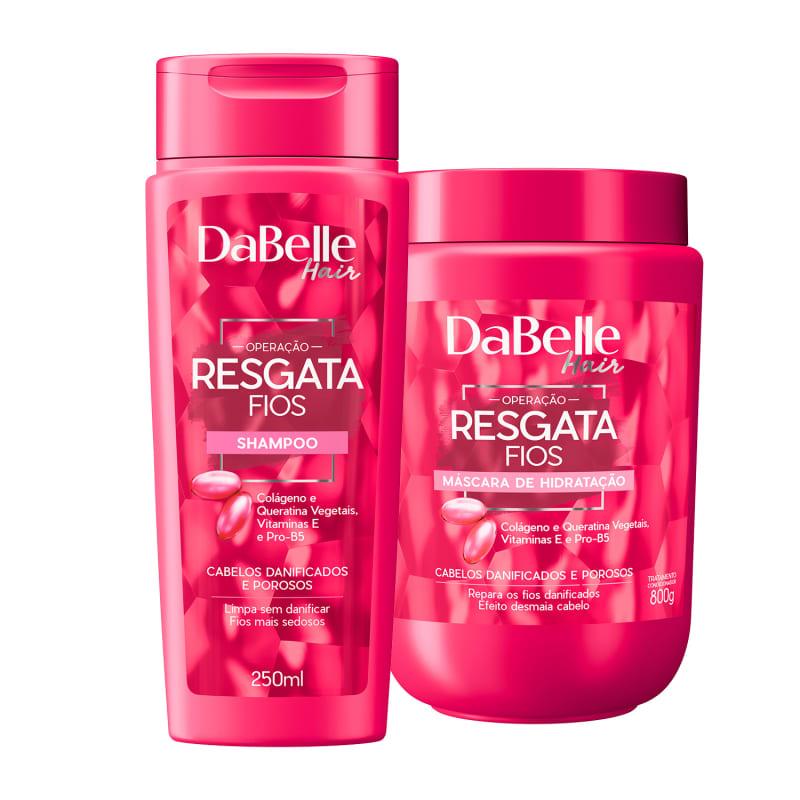 Kit DaBelle Hair Resgata Fios Duo Diário (2 Produtos)