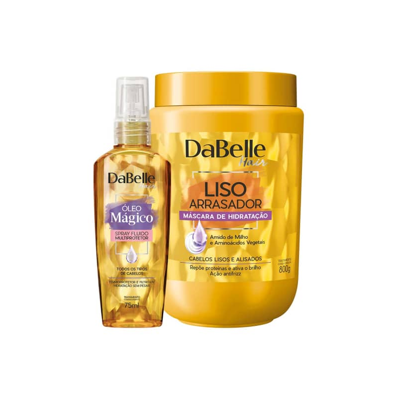 Kit DaBelle Hair Liso Arrasador Multiprotetor Duo (2 Produtos)