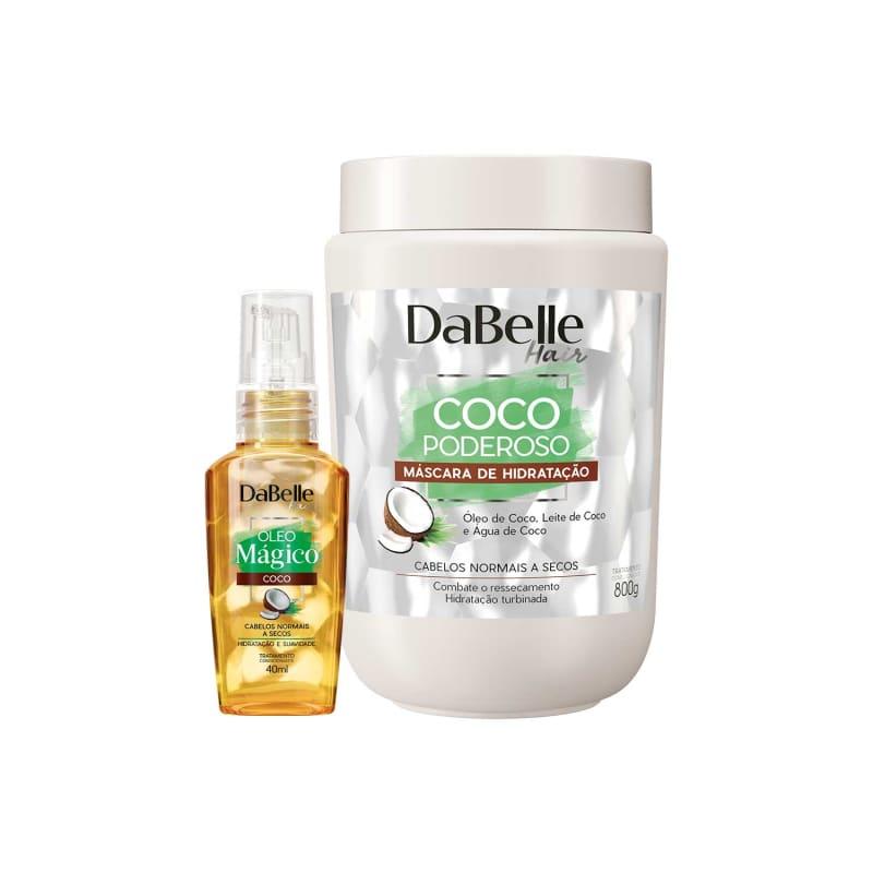 Kit DaBelle Hair Coco Poderoso e Mágico Duo (2 Produtos)