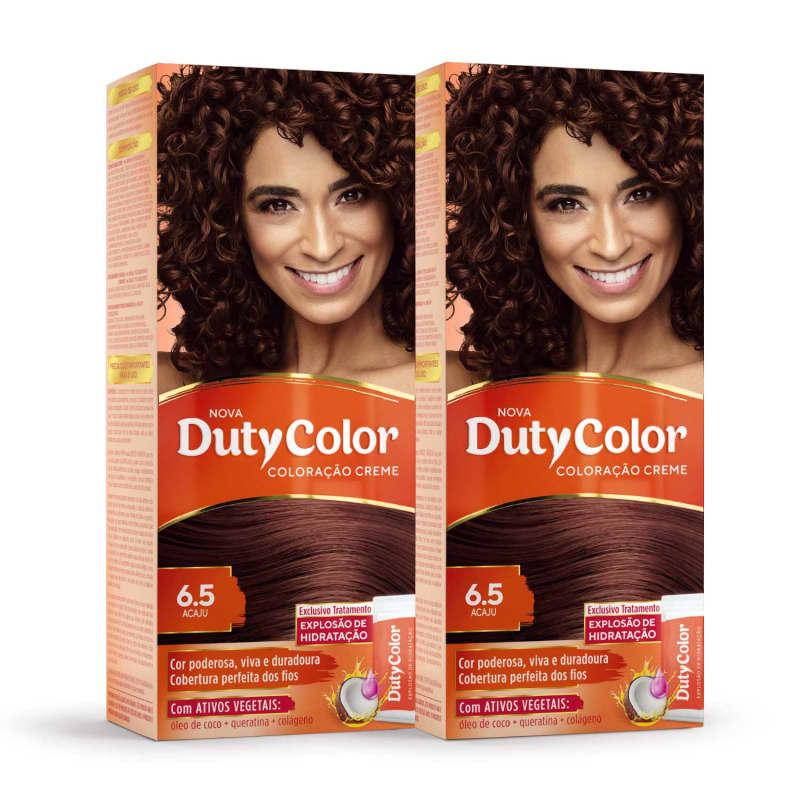 Kit DutyColor 6.5 Acaju Duo - Coloração Permanente (2 Unidades)