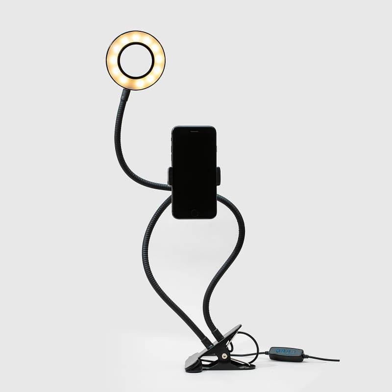 Ring Light - Suporte Flexível 10cm