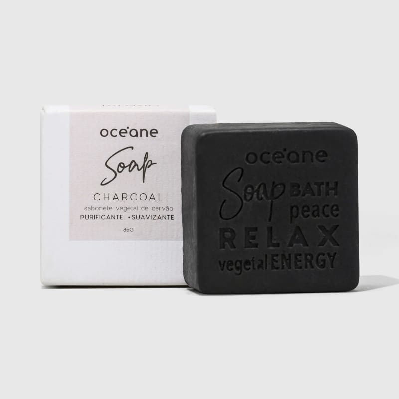 Charcoal Soap - Sabonete Vegetal de Carvão 85g