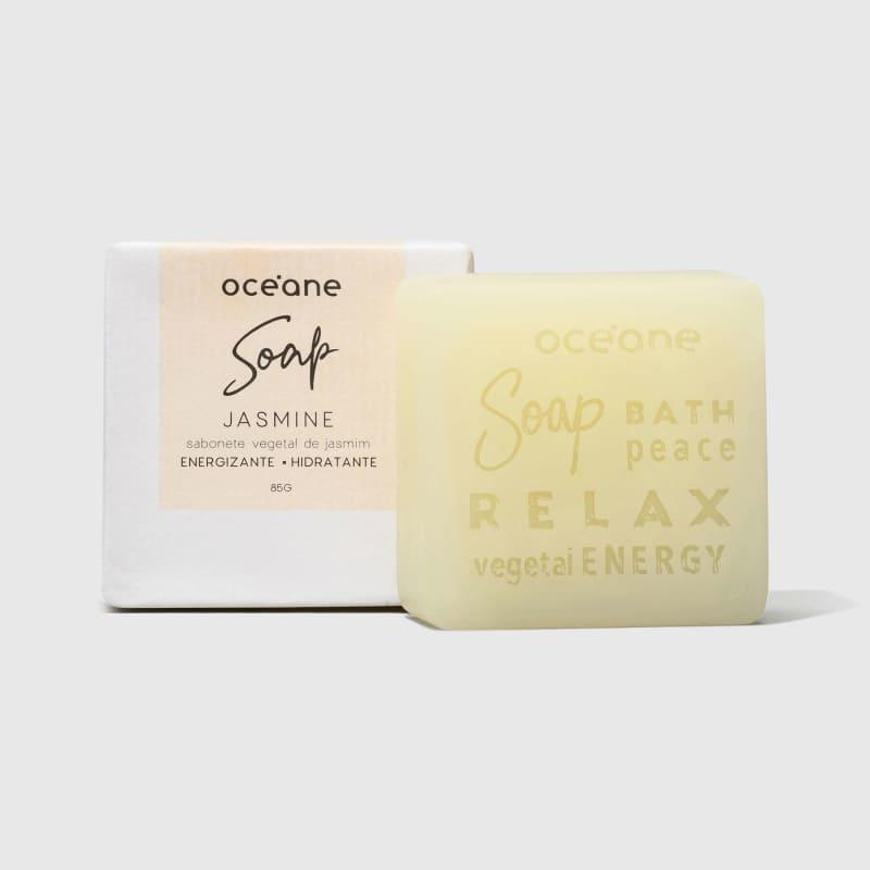 Jasmine Soap - Sabonete Vegetal de Jasmin 85g
